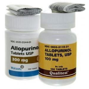 قرص آلوپورینول خوراکیAllopurinol