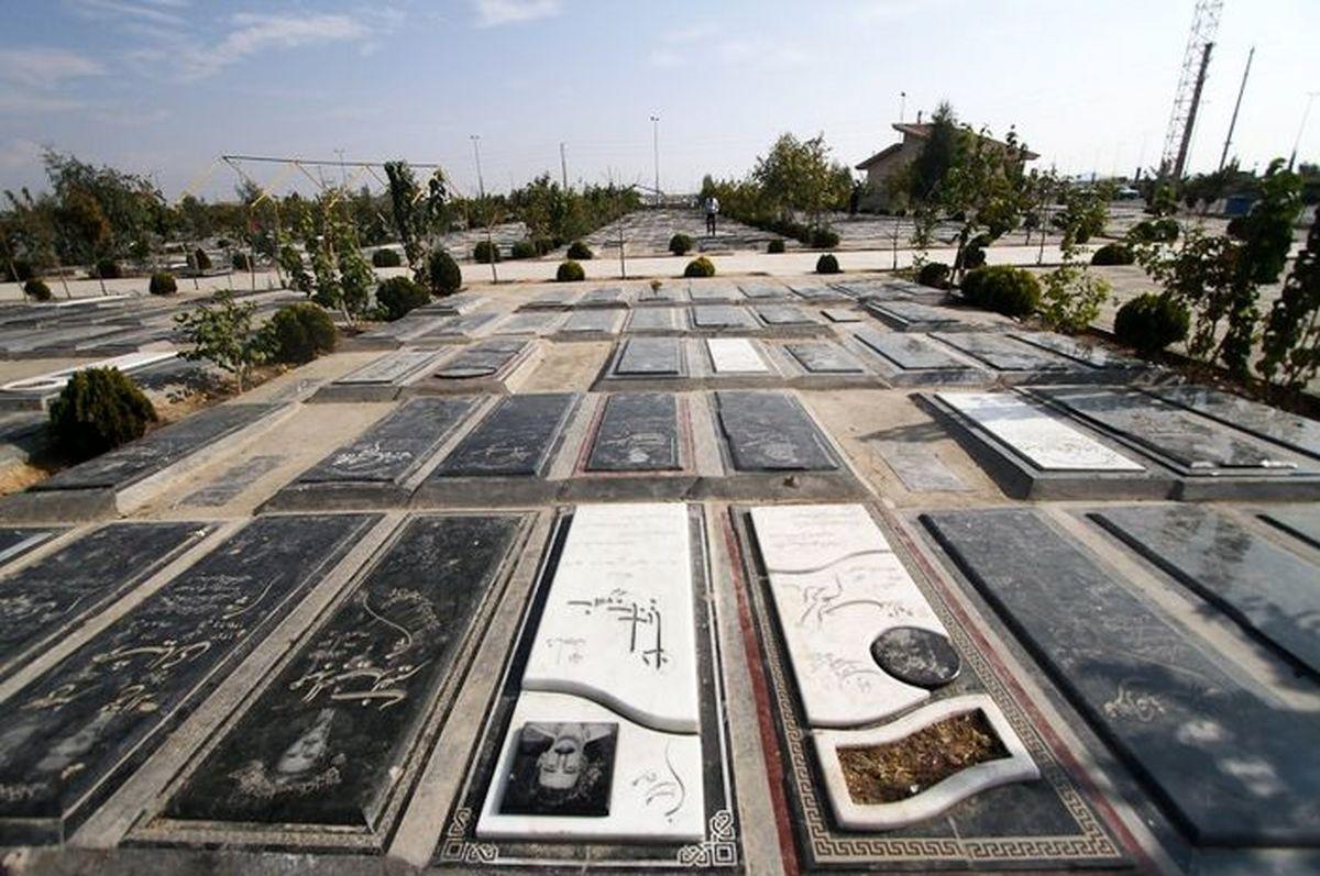 محدودیتهای کرونایی در بهشت زهرا تهران