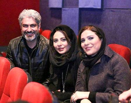 مهدی پاکدل در آغوش همسر دومش + عکس عاشقانه