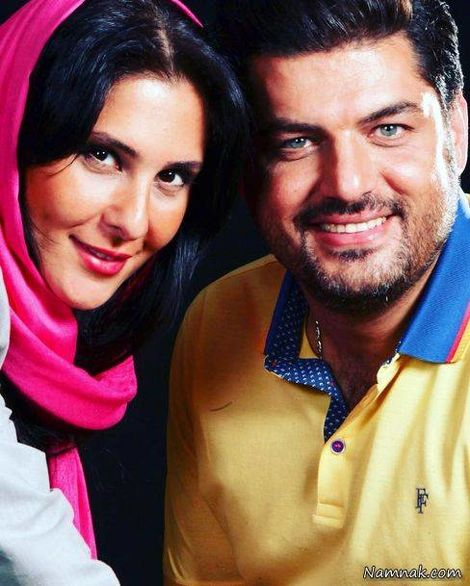 سام درخشانی و همسرش + بیوگرافی