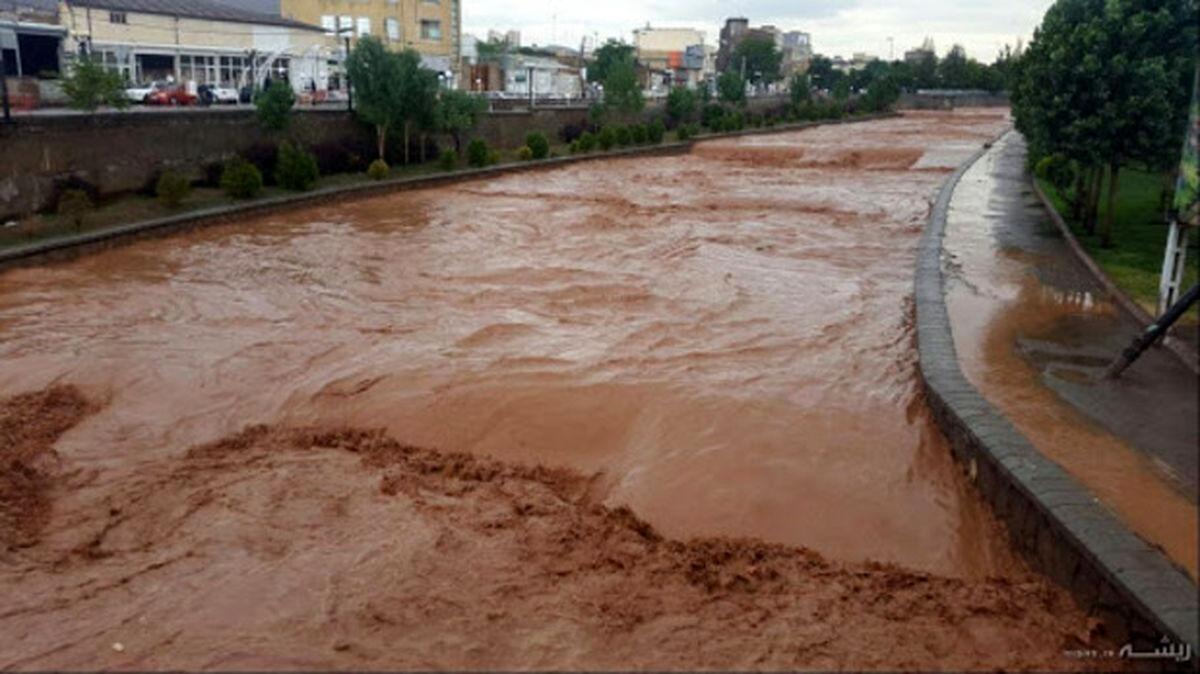 هشدار سیلاب و یخ زدگی معابر در ۱۹ استان
