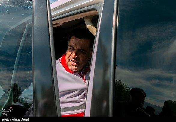 رئیس هلال احمر بازداشت و با قرار  وثیقه آزاد شد+عکس