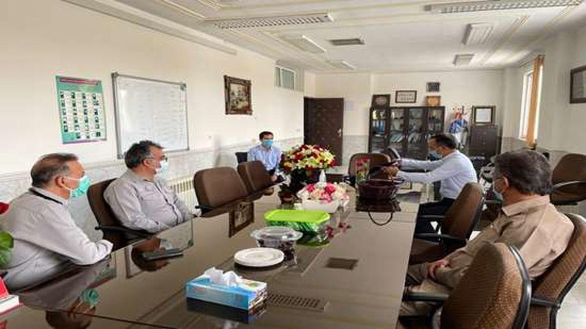 مجتمع مس سرچشمه رفسنجان از پزشکان معاونت بهداشتی رفسنجان تجلیل کرد