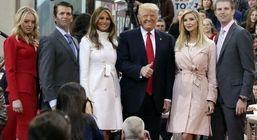 لباس لاکچری و گران قیمت همسر ترامپ هنگام خروج از کاخ سفید + عکس