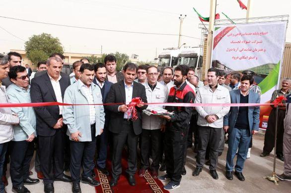 طرح های عمرانی و اشتغالی زایی شرکت فولاد خوزستان افتتاح شد