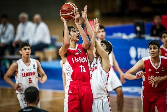 تیم ملی نوجوانان بسکتبال مسابقات جامجهانی را از دست داد