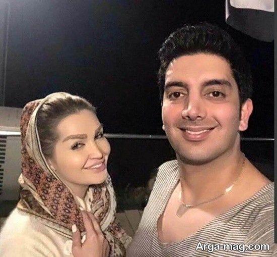 ابراز علاقه عاشقانه فرزاد فرزین به همسرش + بیوگرافی و عکس