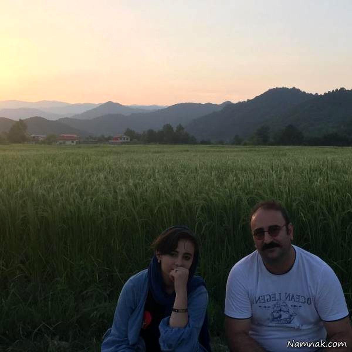 بیوگرافی مهران احمدی و همسرش + تصاویر