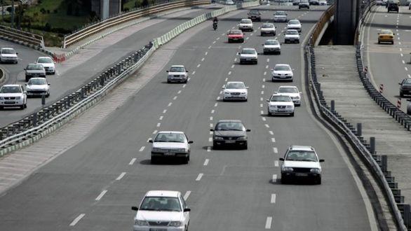 وضعیت ترافیک محورهای مواصلاتی پنجشنبه  ۲۲ اسفند
