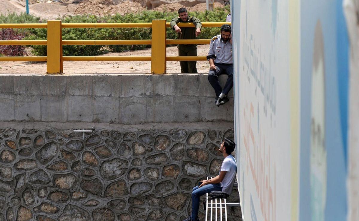 خودکشی پسر جوان یزدی از روی پل + تصاویر +18
