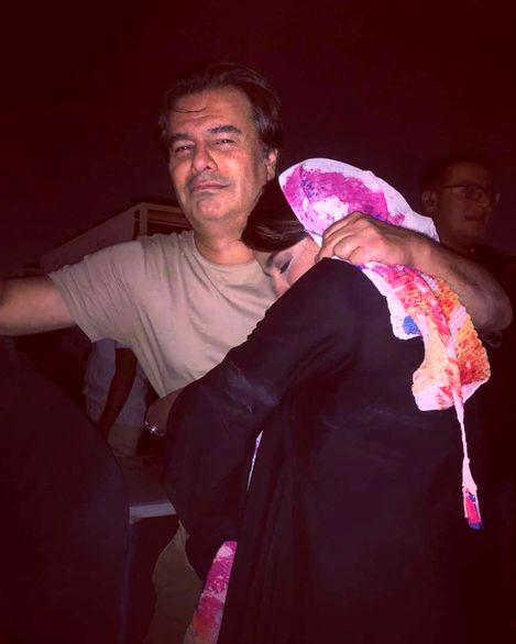 عکس عجیب  لورفته از پیمان قاسمخانی و همسر جدیدش + بیوگرافی و عکس