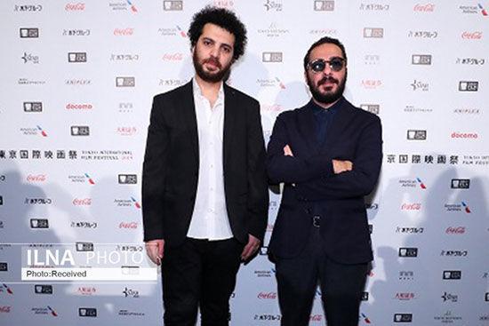 نوید محمدزاده و سعید روستایی در جشنواره فیلم توکیو