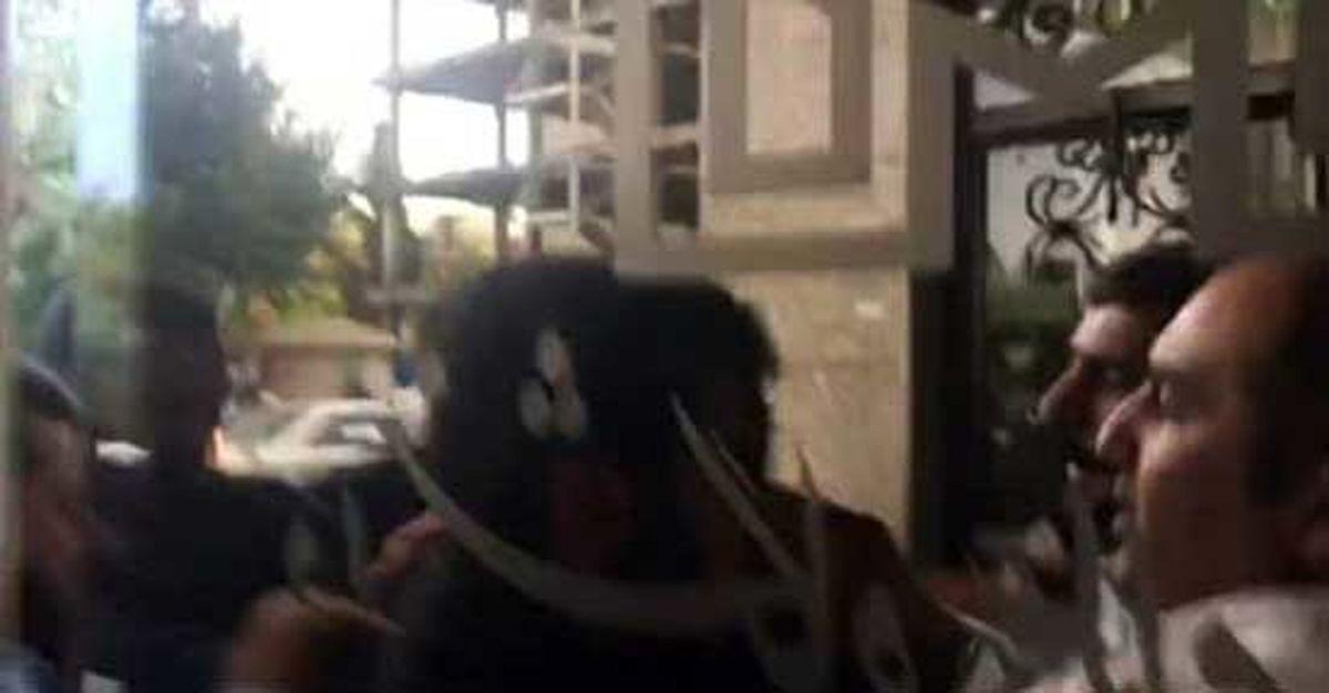 درگیری در دانشگاه علامه بخاطر میرحسین موسوی + عکس