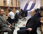 بازدید سر زده معاون فناوری اطلاعات بانک ایران زمین از مرکز تماس این بانک
