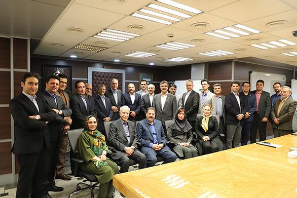 مراسم تودیع اعضای سابق هیأت مدیره بانک کارآفرین برگزار شد
