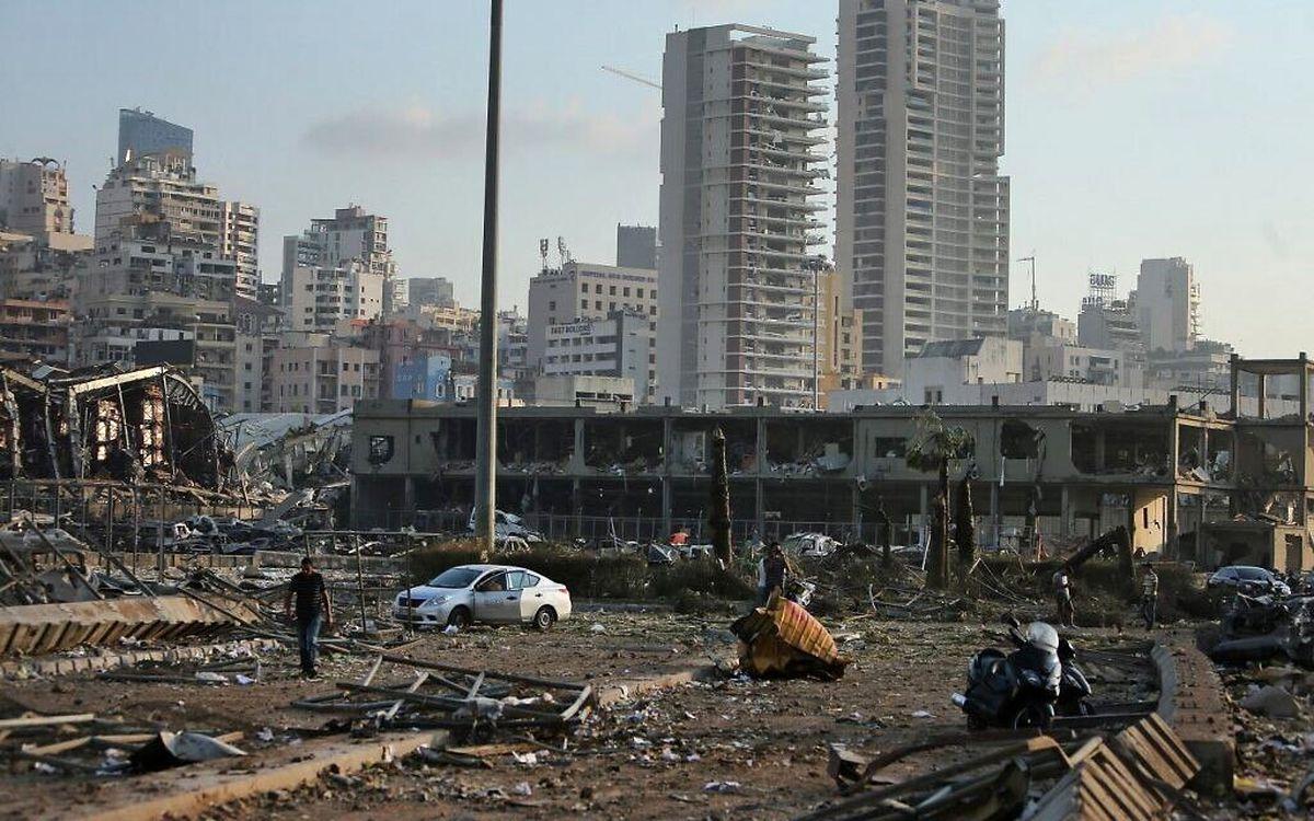 ارتش لبنان وجود تونل در محل انفجار بیروت را رد کرد