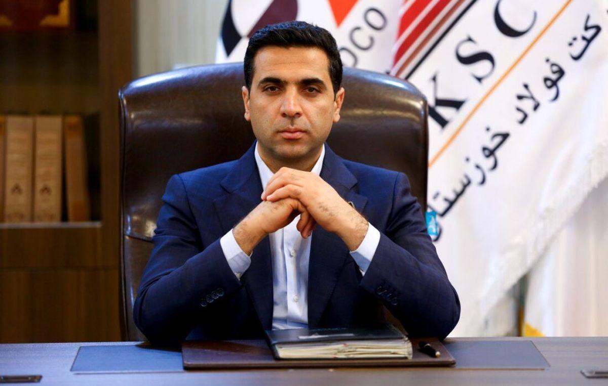 پیام تبریک مدیر عامل شرکت صنعتی و معدنی توسعه فراگیر سناباد به مدیر عامل جدید شرکت فولاد خوزستان