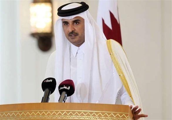سکوت امیر  قطر شکست
