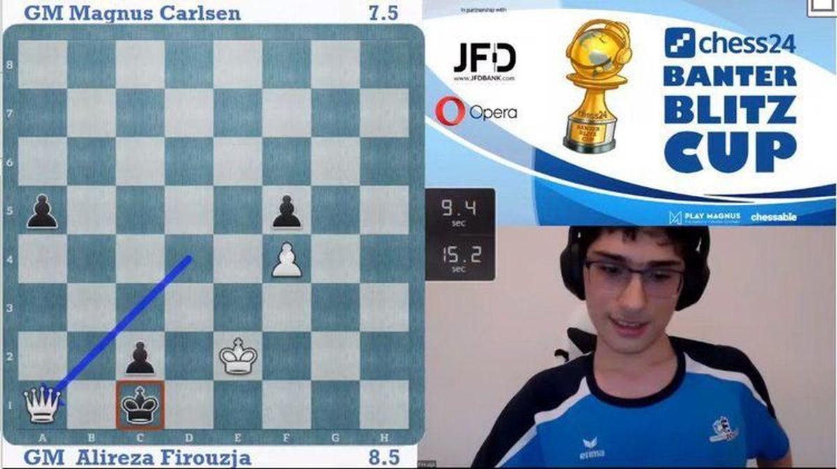 علیرضا فیروزجا قهرمان جهان را شکست داد