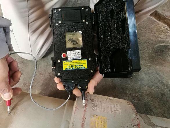 بررسی صحت عملکرد اتصالات عایق منطقه جنوب شرق با دستگاه RF Tester