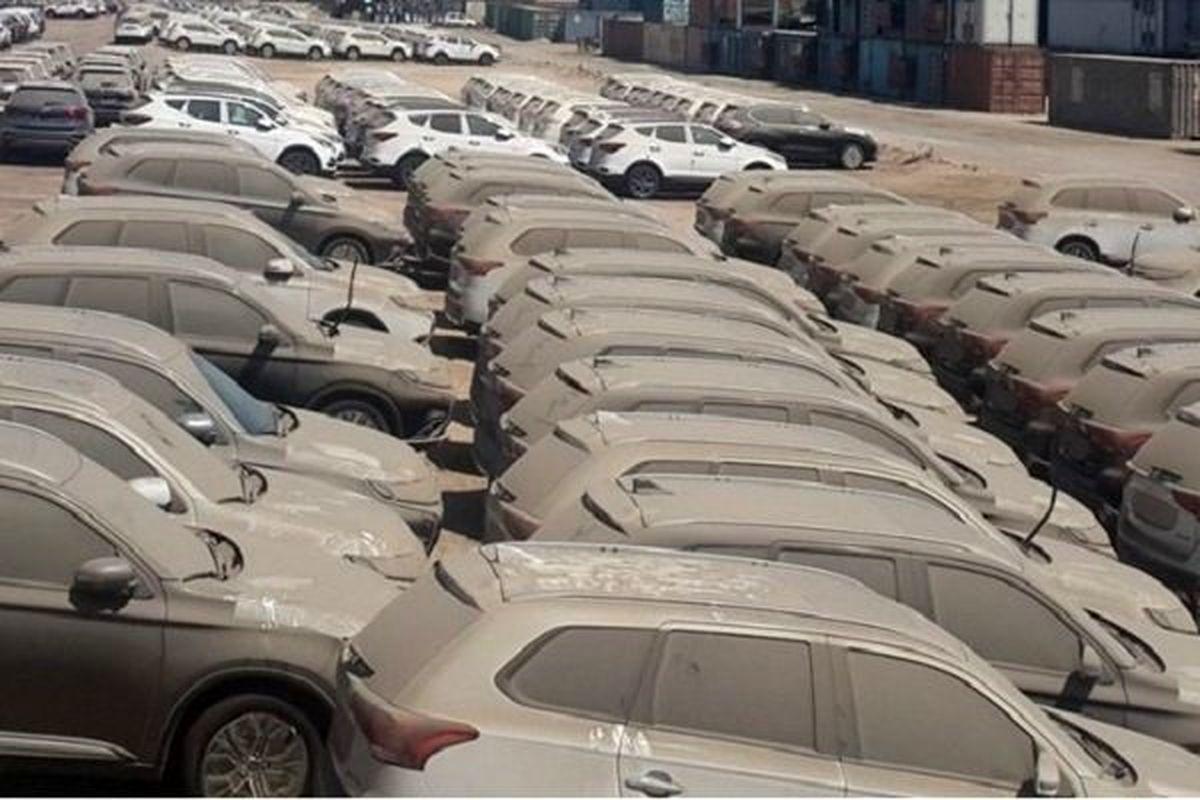 ترخیص ۱۰۴۸ خودرو بدون کسب اجازه از دولت؟