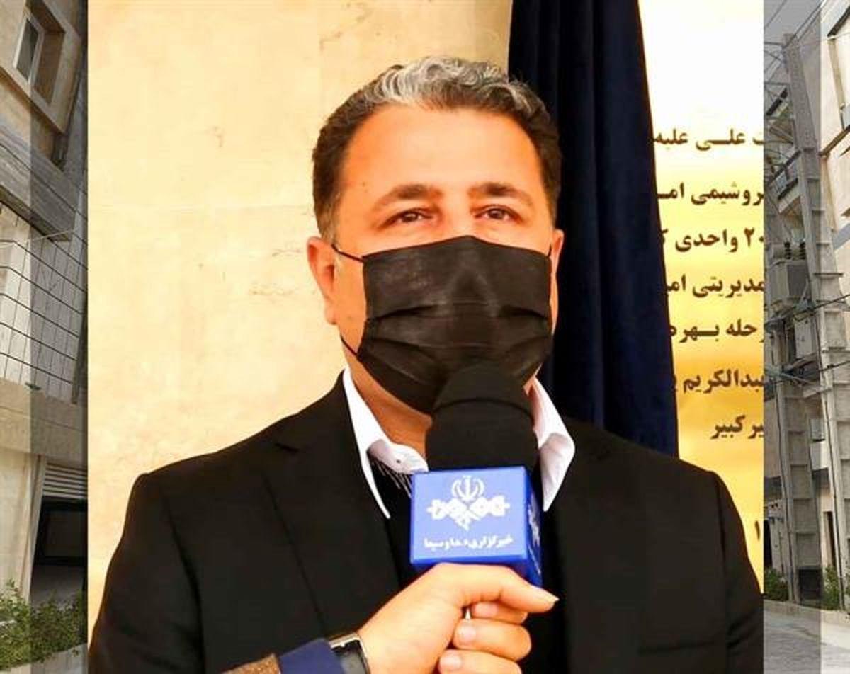 افتتاح پروژه رفاهی مسکن ۲۰۰ واحدی کارکنان پتروشیمی امیرکبیر