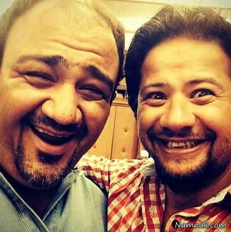 عکس مهران غفوریان و علی صادقی