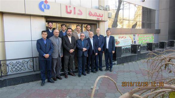 بازدید رئیس هیات مدیره از شعبه مسجد کبود تبریز