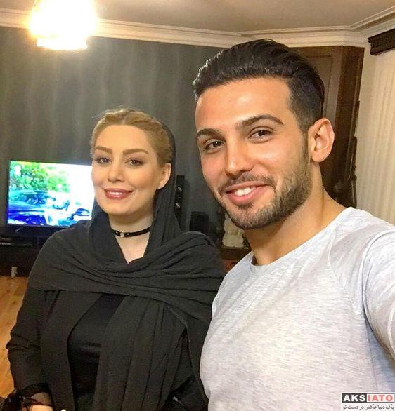 عکس های لورفته و جنجالی از سحر قریشی و دوست پسر جدیدش در سواحل ترکیه + فیلم و عکس
