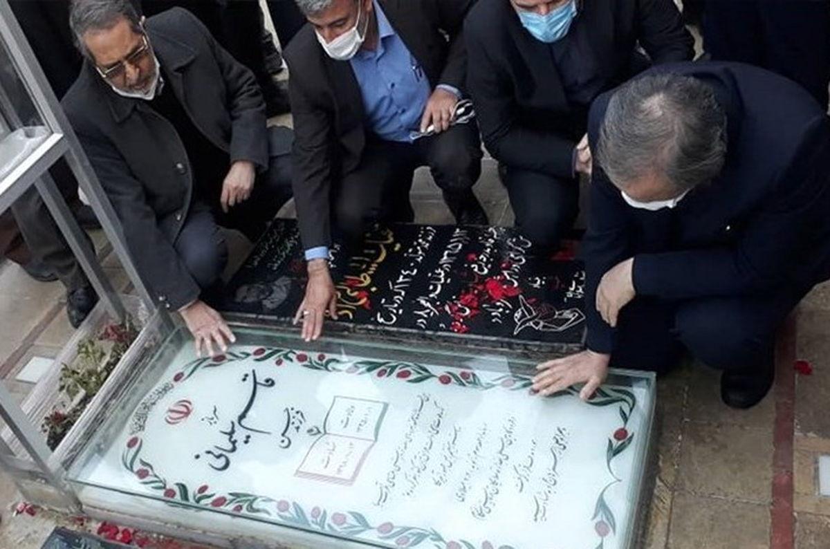 حضور وزیر صمت در مراسم سالگرد شهادت سپهبد حاج قاسم سلیمانی در کرمان