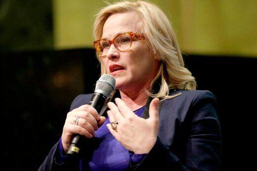 حمله بازیگر زن به دونالد ترامپ در مراسم گلدنگلوب