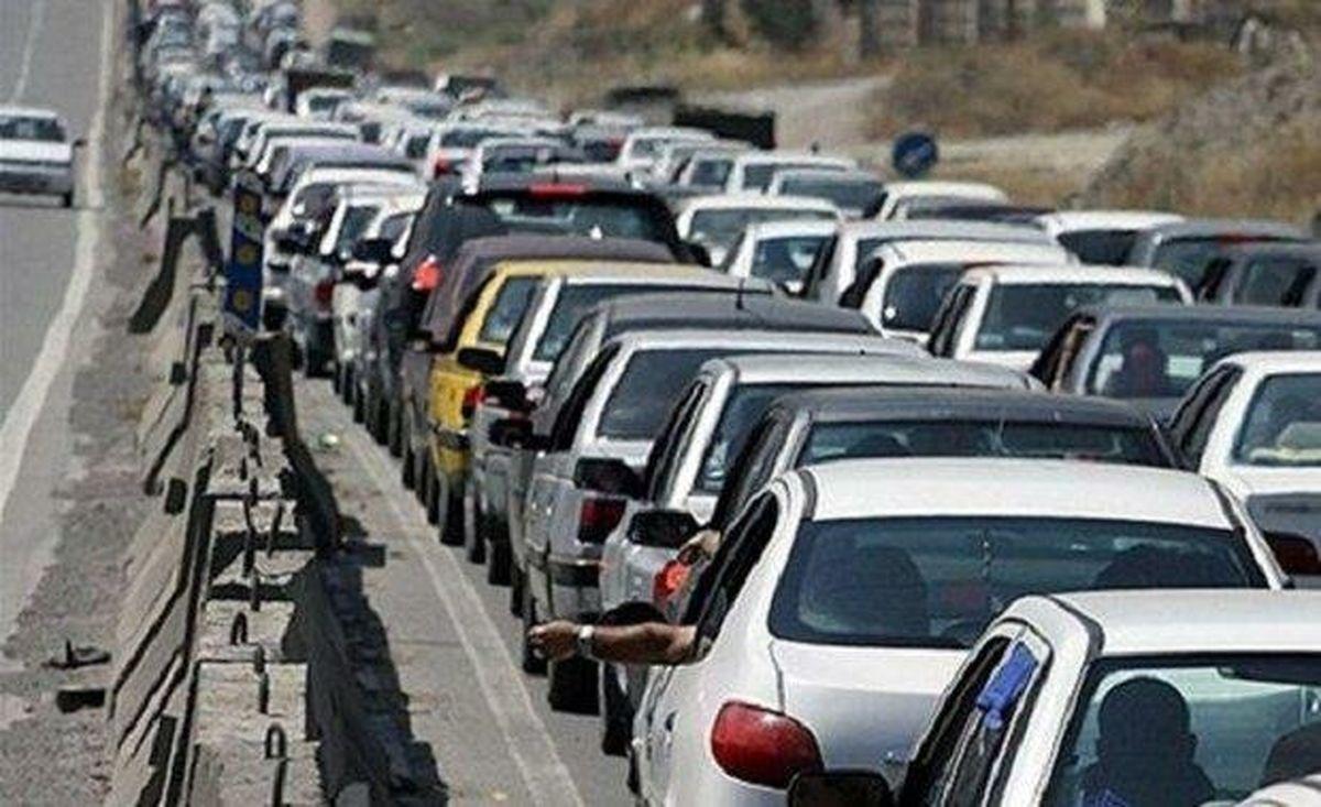ترافیک سنگین در محورهای شمالی کشور
