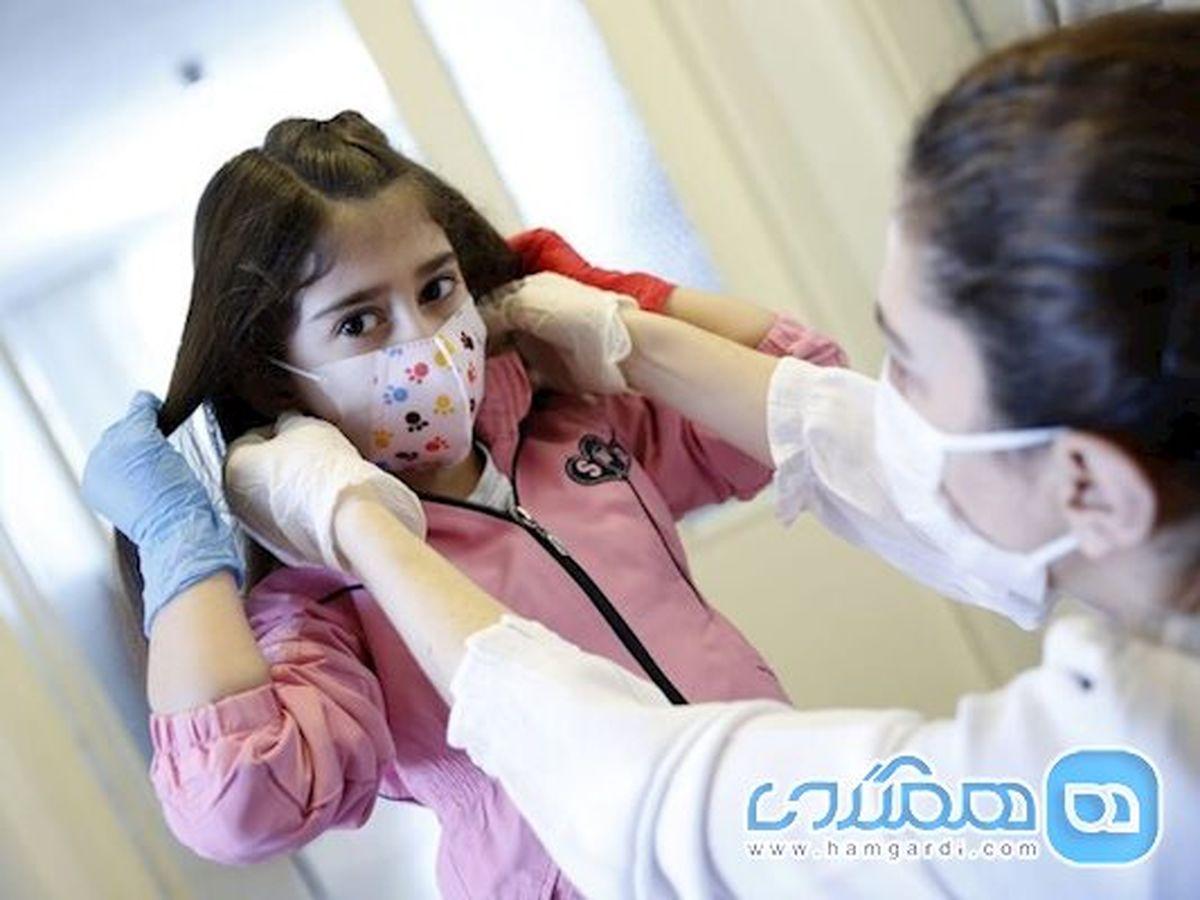 کودکان بالای 12 سال قوانین استفاده از ماسک را رعایت کنند