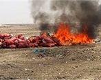 انهدام 140 تن کالای قاچاق در اصفهان