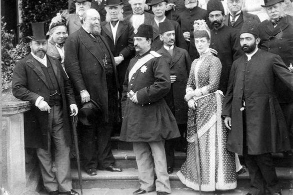 فیلم/ ویدئویی تاریخی از سفر مظفرالدین شاه به بریتانیا