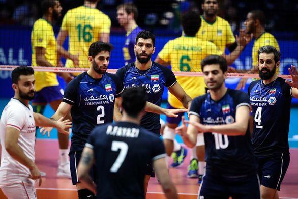 ساعت دیدار تیم های والیبال ایران و روسیه مشخص شد
