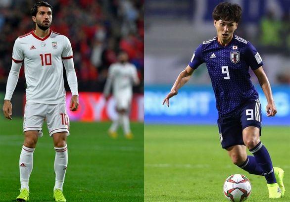 ۵ نکته از تقابل ایران و ژاپن