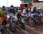 عکس/مسابقات کراس موتورسواری زنان در ایران