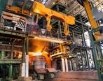 ثبت رکورد جدید تولید در فولاد بردسیر