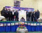 رونمائی از تمبر حر انقلاب در قزوین