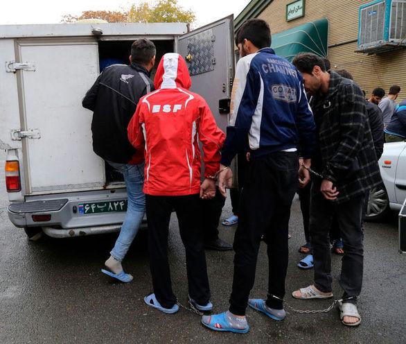 گروه متجاوز 7 نفره در گرگان متلاشی شد + عکس