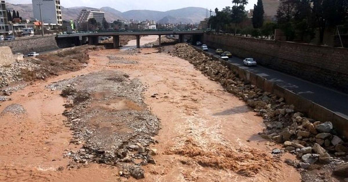 هشدار سیل در شیراز