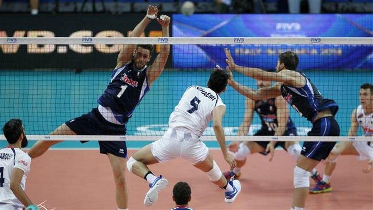 تاریخچه بازی های تیم ملی والیبال ایران و امریکا