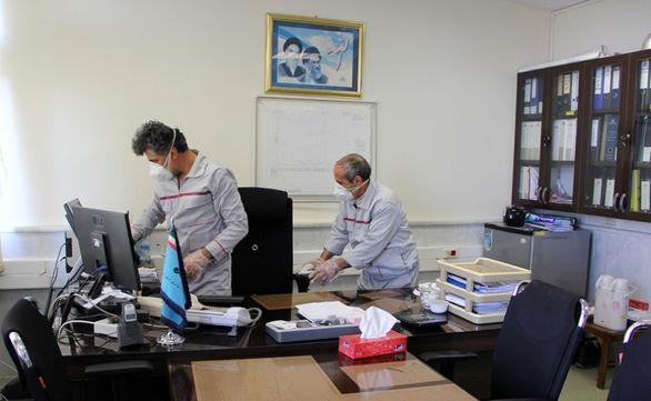 انجام عملیات بهداشتی برای مقابله با ویروس کرونا در منطقه شمال غرب