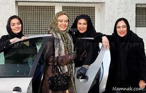 السا فیروز آذر ، مهناز افشار و لادن مستوفی
