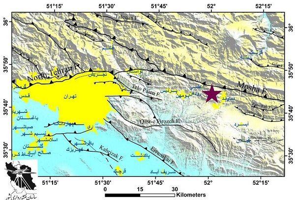 آخرین اخبار از زلزله در تهران و مازندران