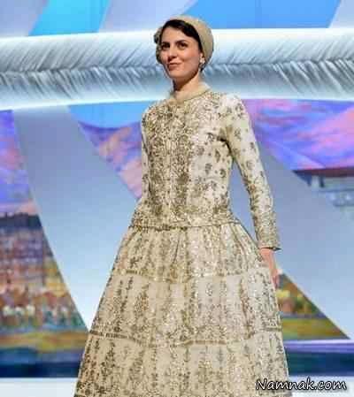 لیلا حاتمی با لباس ایرانی