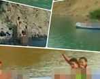 کشف حجاب کامل چند دختر در دریاچه ولشت کلاردشت + عکس