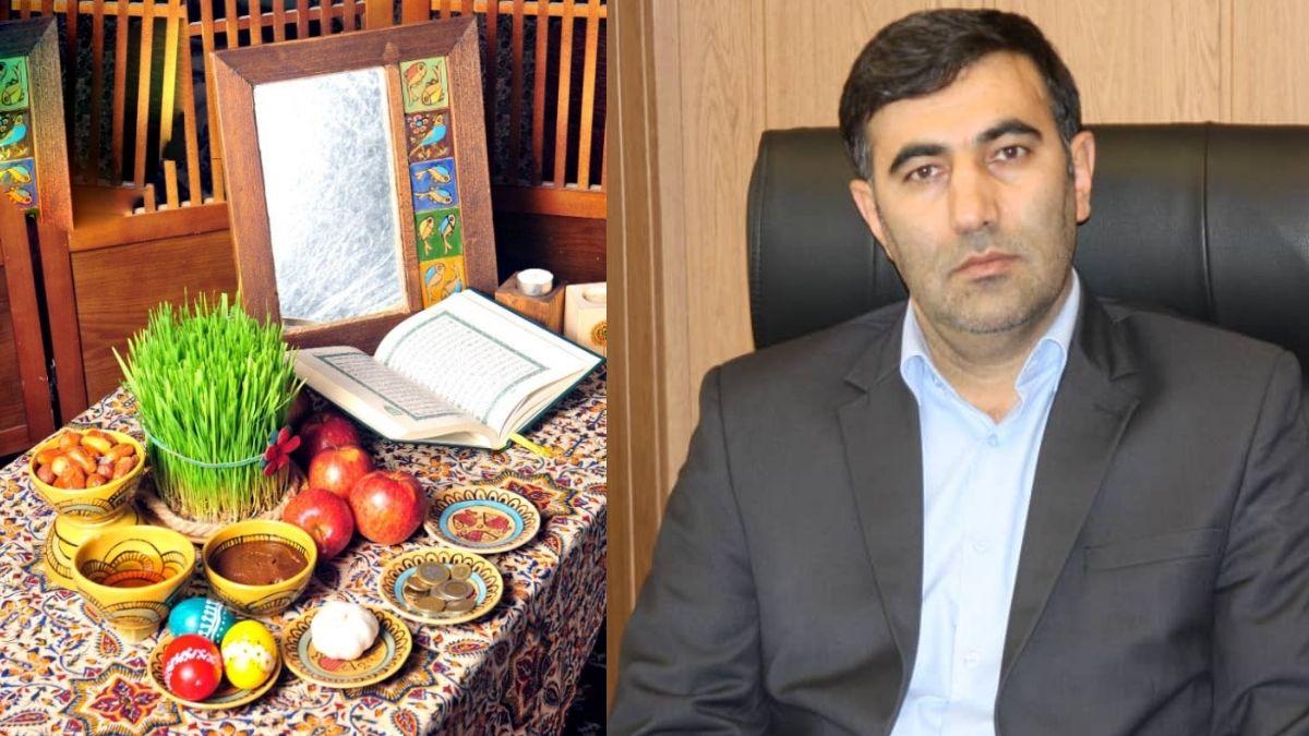 مدیرعامل صندوق قرض الحسنه شاهد فرارسیدن سال نو را تبریک گفت