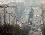 آلودگی هوای البرز از مرز هشدار گذشت